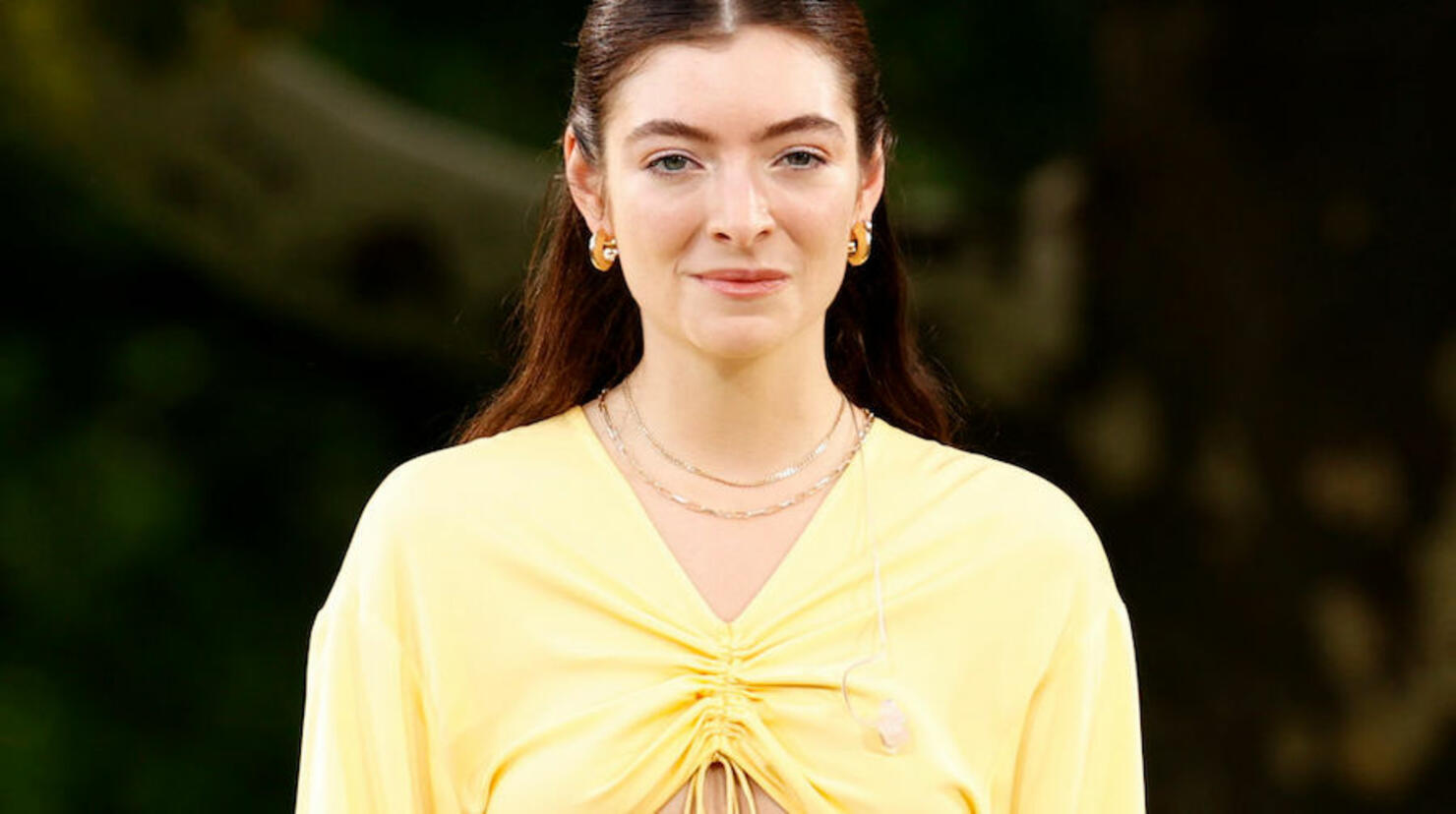 """Lorde Performs At """"Good Morning America's"""" Summer Concert Series"""