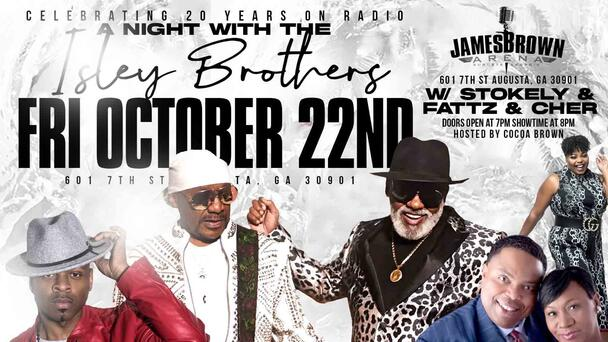 Win a chance to spend and Evening with the Isley Brothers
