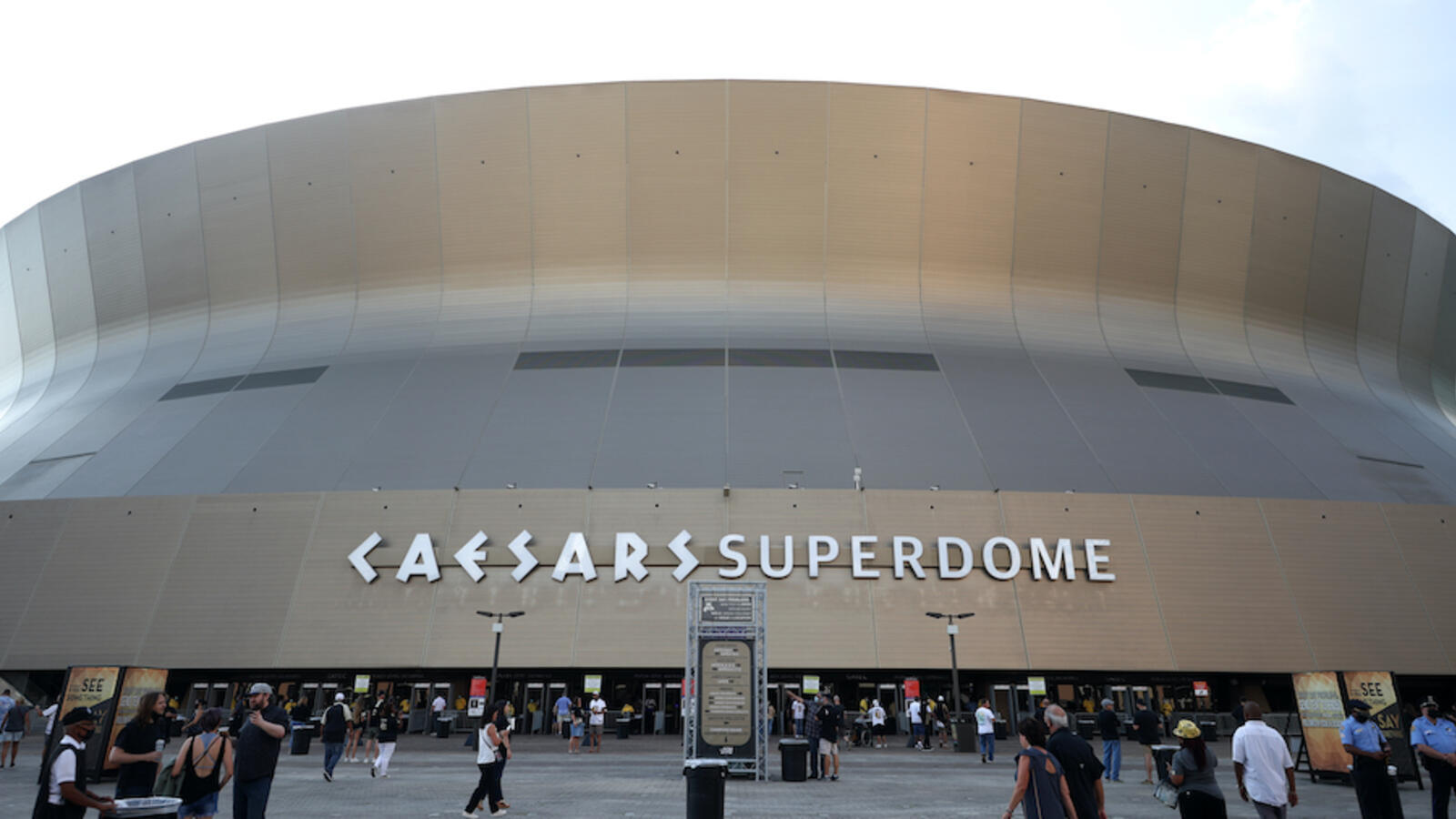 WATCH: New Orleans' Superdome Appears To Be On Fire