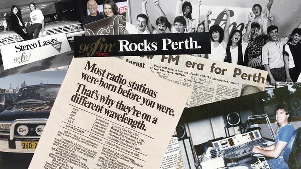 Delve into 96FM's history
