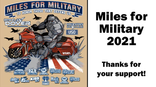Miles for Military 2021