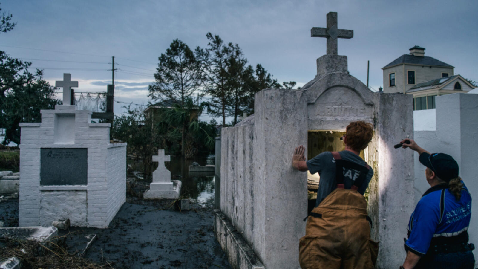 Lafitte Tombs, Caskets Washed Away By Hurricane Ida