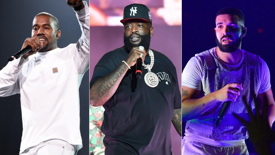 Rick Ross Has Thoughts On The Kanye West & Drake Beef