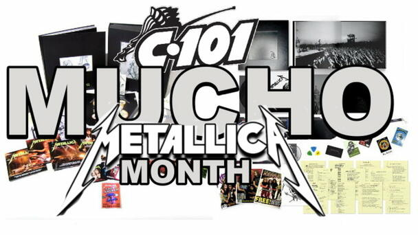 Mucho Metallica Month on C101! Enter your Keyword Here!