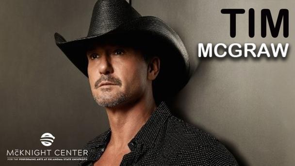 Win tickets to see Tim McGraw at the McKnight Center in Stillwater