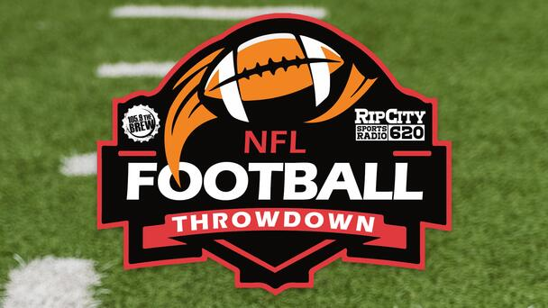 Travis and Drew vs Chad and Tanner - NFL Football Throwdown!
