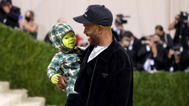 Frank Ocean Brought A Moving Blinking Robot Baby To The Met Gala