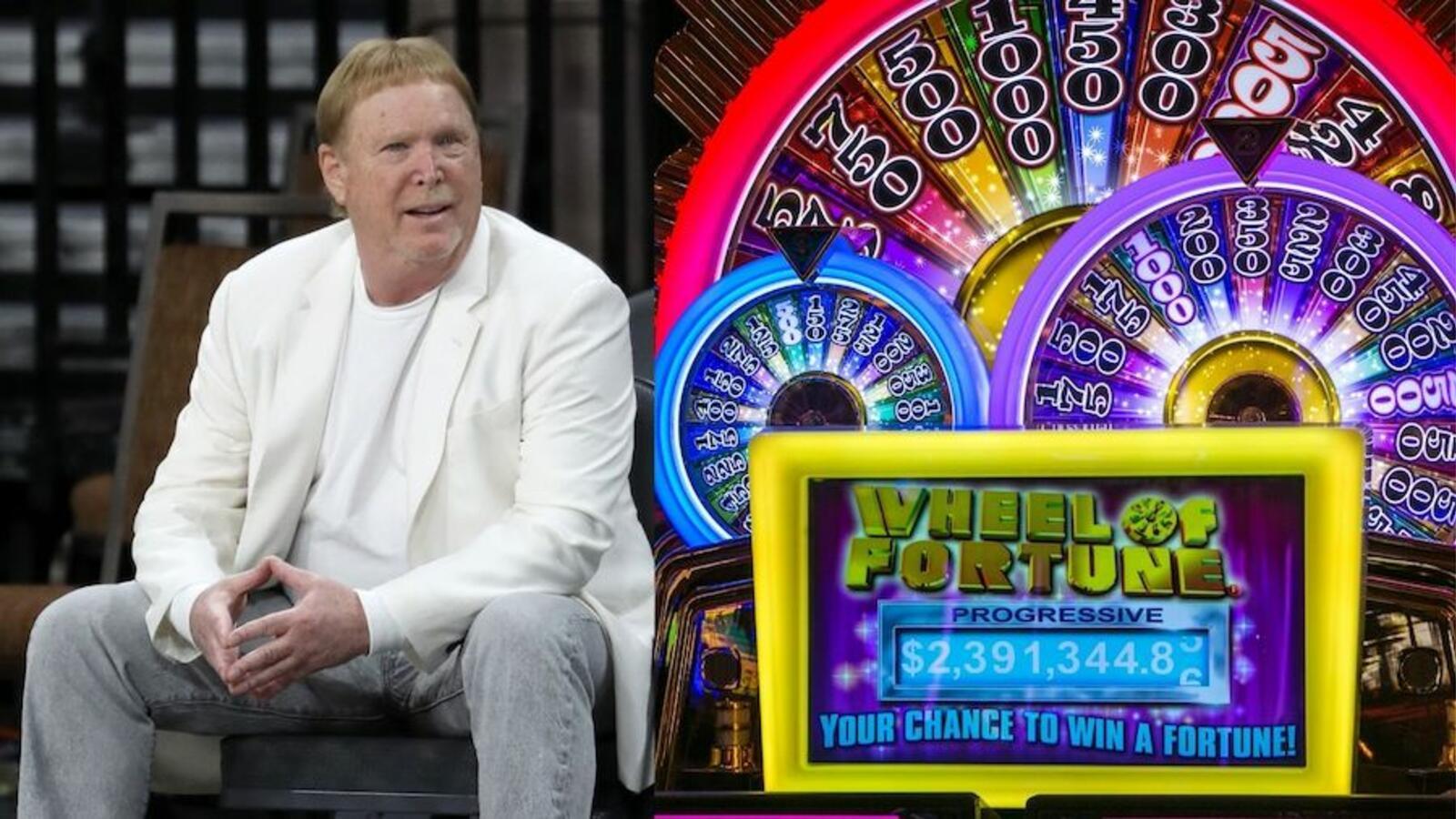 Raiders Owner Mark Davis, Worth $500 Million, Has Big Win On Slot Machine