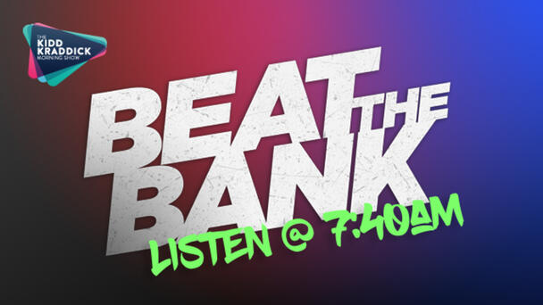 The most stressful game on the radio is back! Can you hold out for the most money and STOP just in time before the vault slams shut? You could win up to $1000!