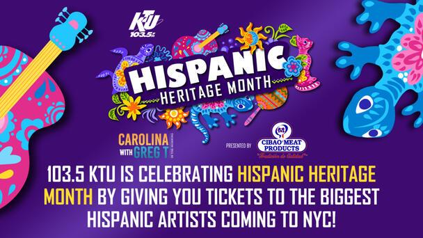 Celebrate Hispanic Heritage Month with 103.5 KTU