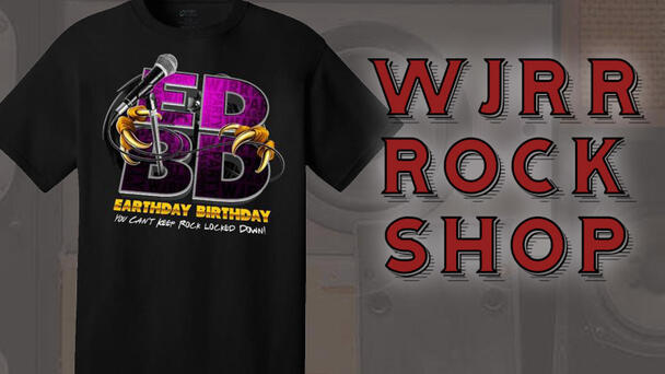 WJRR Rock Shop - EDBD Pre-Party Shirt On Sale Now!