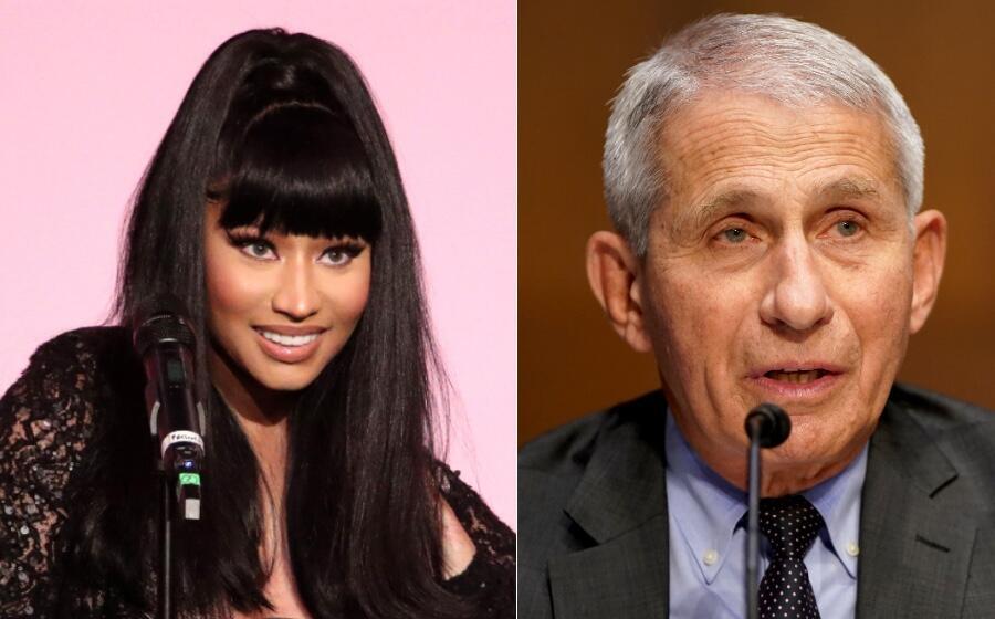Dr. Fauci Sets Straight Nicki Minaj's Vaccine Claims