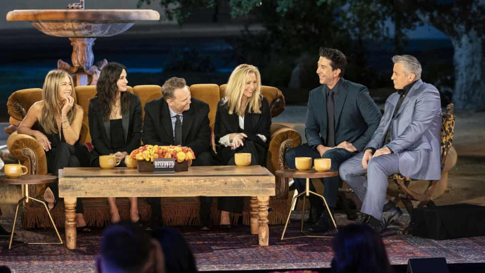 Filming The 'Friends' Reunion Was Full Of 'Melancholy' For The Cast