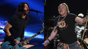 image for Watch Guns N' Roses Perform 'Paradise City' With Dave Grohl In Napa Valley