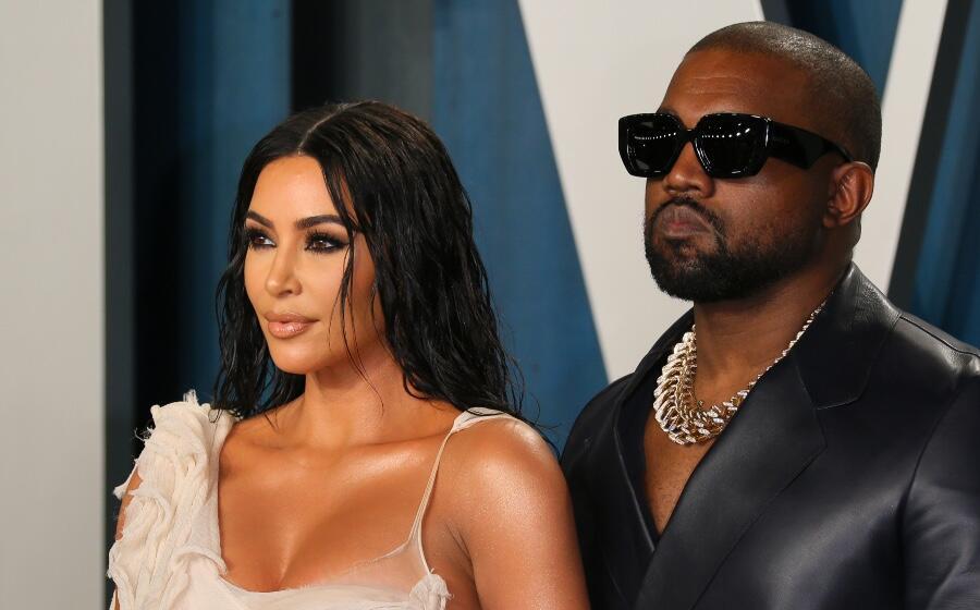 Kanye West Praises Kim Kardashian's 2021 Met Gala Look