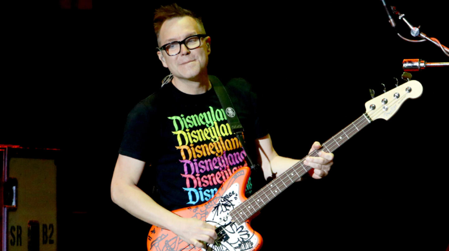 Mark Hoppus Is 'Grateful' To Be Done With Chemotherapy