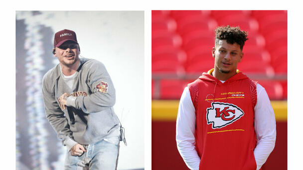 Kane Brown Brings Patrick Mahomes On Stage To Celebrate His 26th Birthday