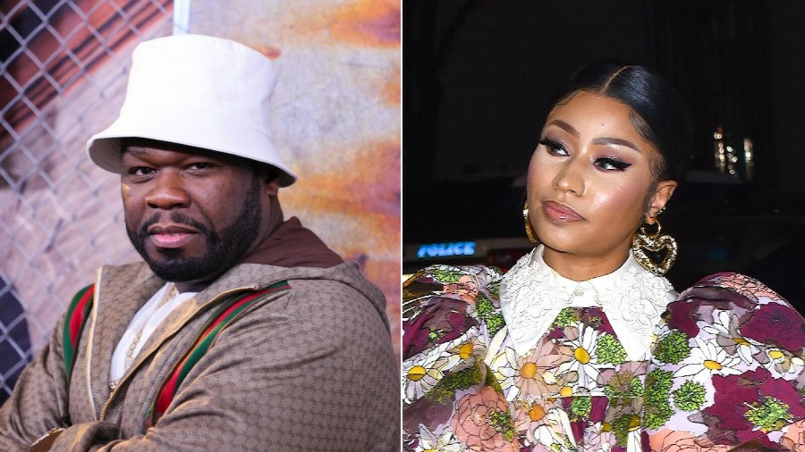 50 Cent Shares Theory On Nicki Minaj's Cousin's Friend's Swollen Testicles