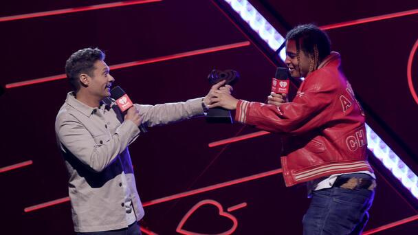 24kGoldn Accepts the Titanium Award at 2021 iHeartRadio Music Festival