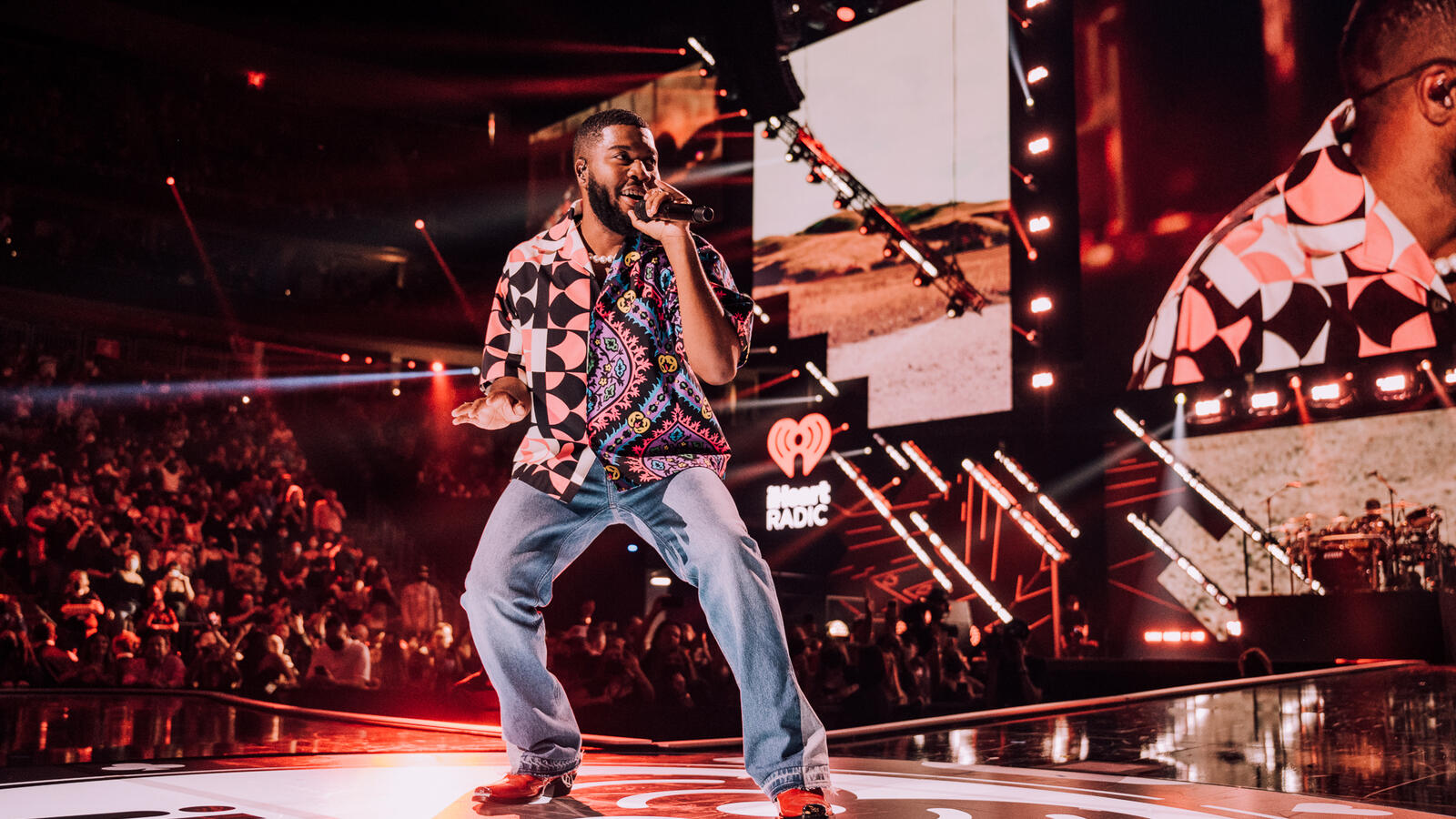 Khalid Brings The High Vibrations To The 2021 iHeartRadio Music Festival