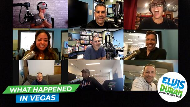 What Happens In Vegas… Ends Up On The 15 Minute Morning Show