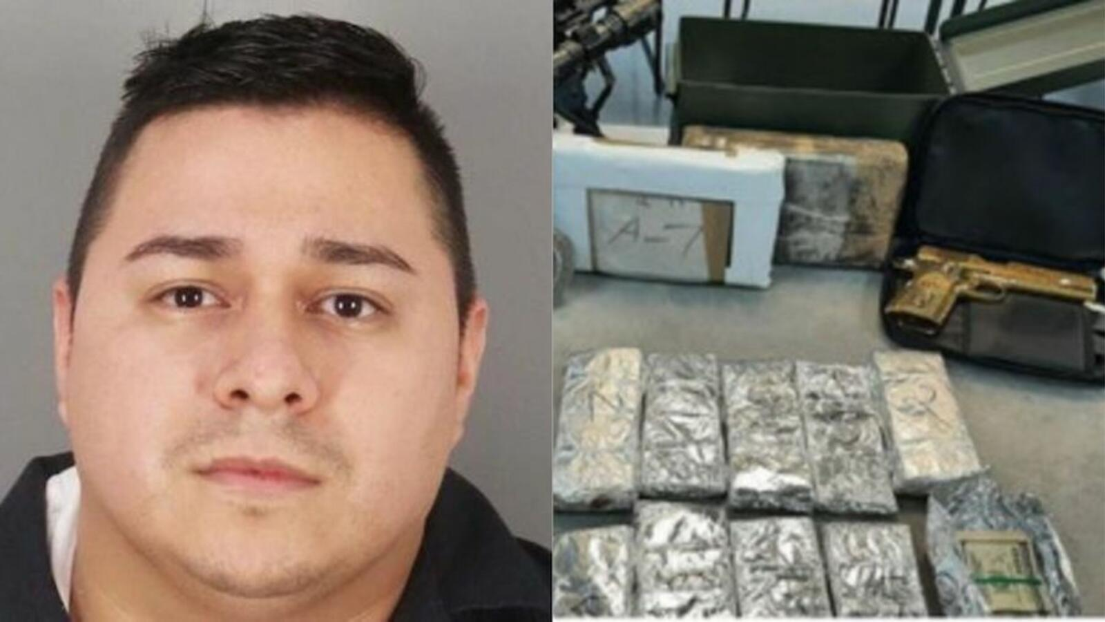 Routine Traffic Stop Leads To 3 Kilos Of Cocaine, Golden Gun