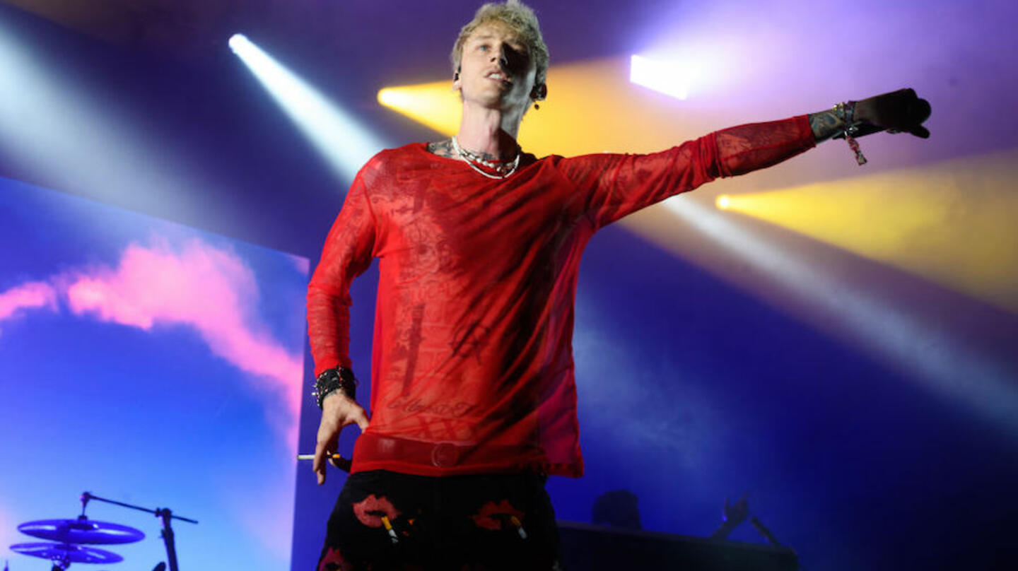 Machine Gun Kelly Gets Emotional While Recalling A Special Show He Played