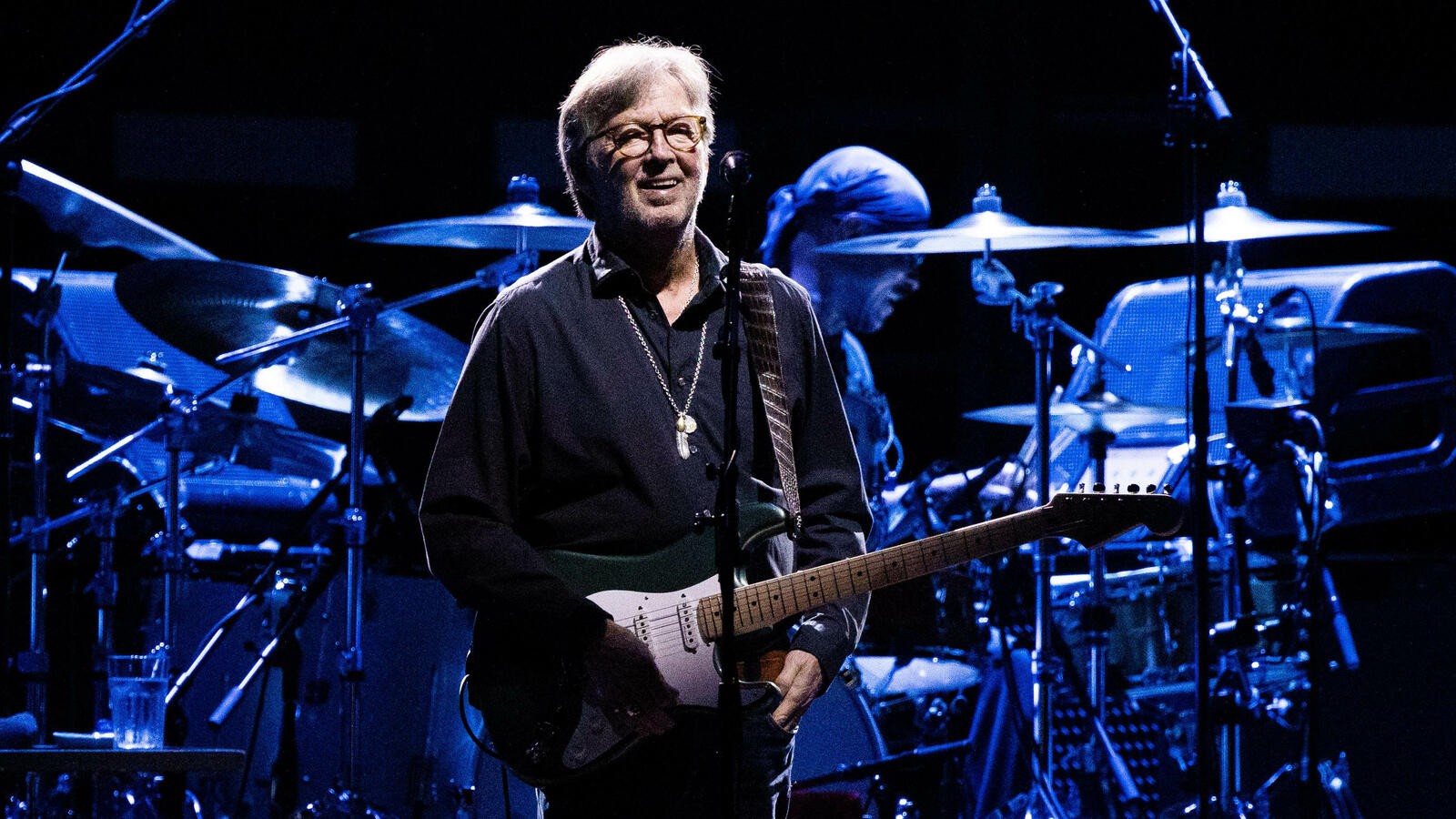 Eric Clapton Plays Vaccine-Required Gig After Vowing That He Would Never