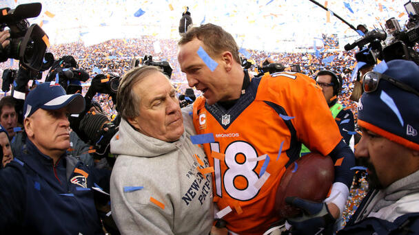 WATCH: Peyton Manning Says He Feared Patriots 'Bugged' Locker Room
