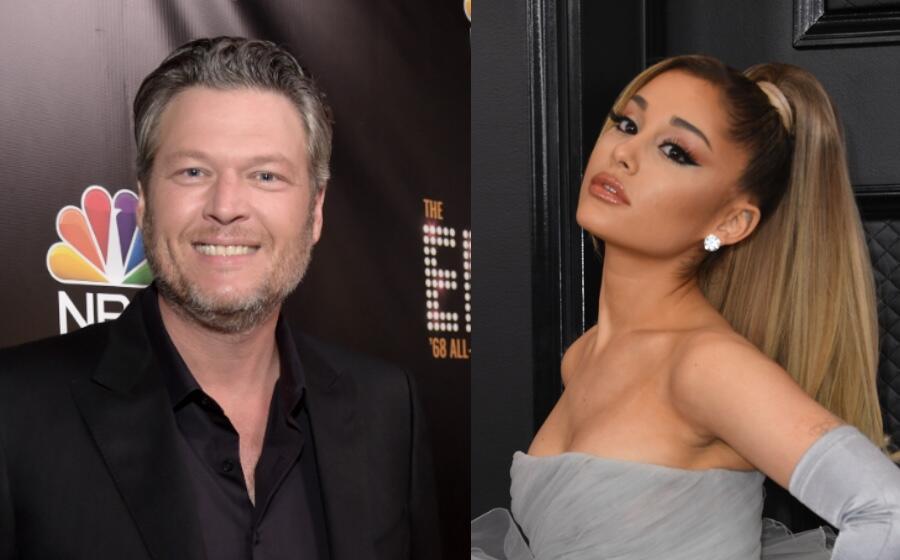 Blake Shelton Claims Ariana Grande Crushed His Dreams Of A No. 1 Album