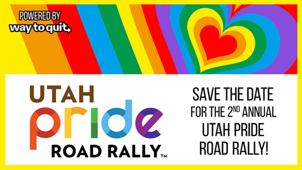 Save the Date for the 2nd Annual Utah Pride Road Rally!