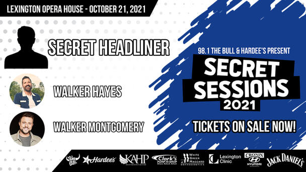 Secret Sessions #3 - Tickets On Sale NOW!