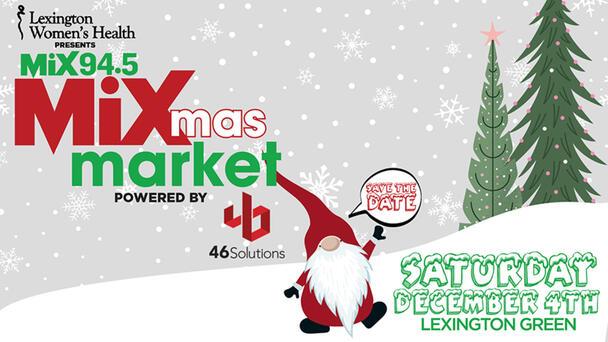 Save the Date! Lexington Women's Health presents MixMas Market 2021!