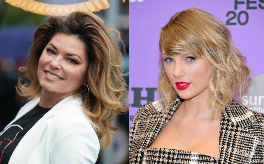 Taylor Swift Shouts Out Shania Twain In New TikTok Video