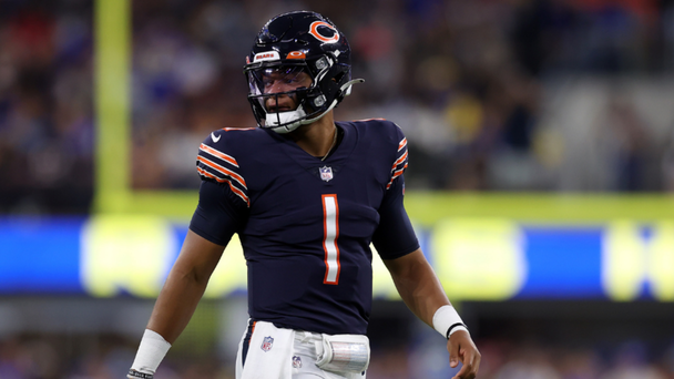 Justin Fields To Make His First NFL Start For Chicago Bears