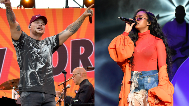 Kane Brown & H.E.R. Are Teaming Up On A New Project