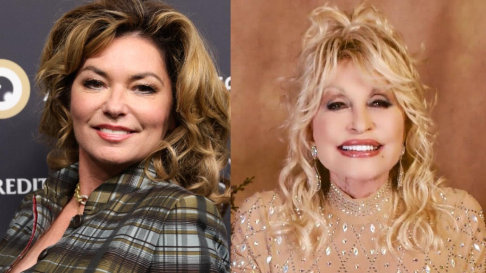 Shania Twain Pays Taylor Swift's TikTok Tribute Forward To Dolly Parton