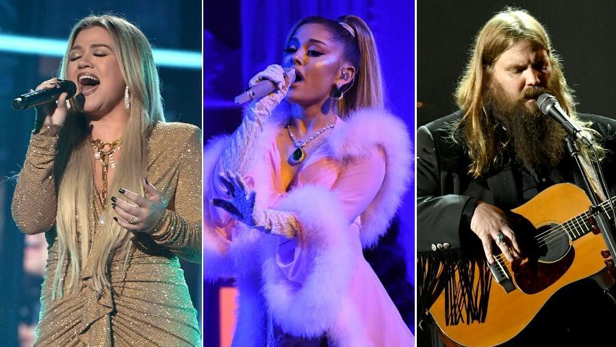 Kelly Clarkson Nabs Ariana Grande, Chris Stapleton For New Christmas Album