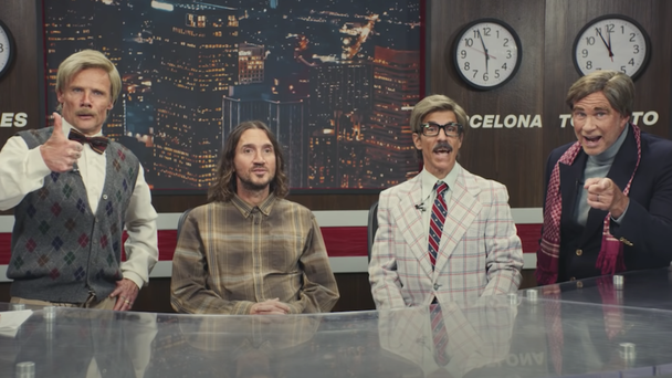 Red Hot Chili Peppers Announce 2022 Tour With Hilarious Video