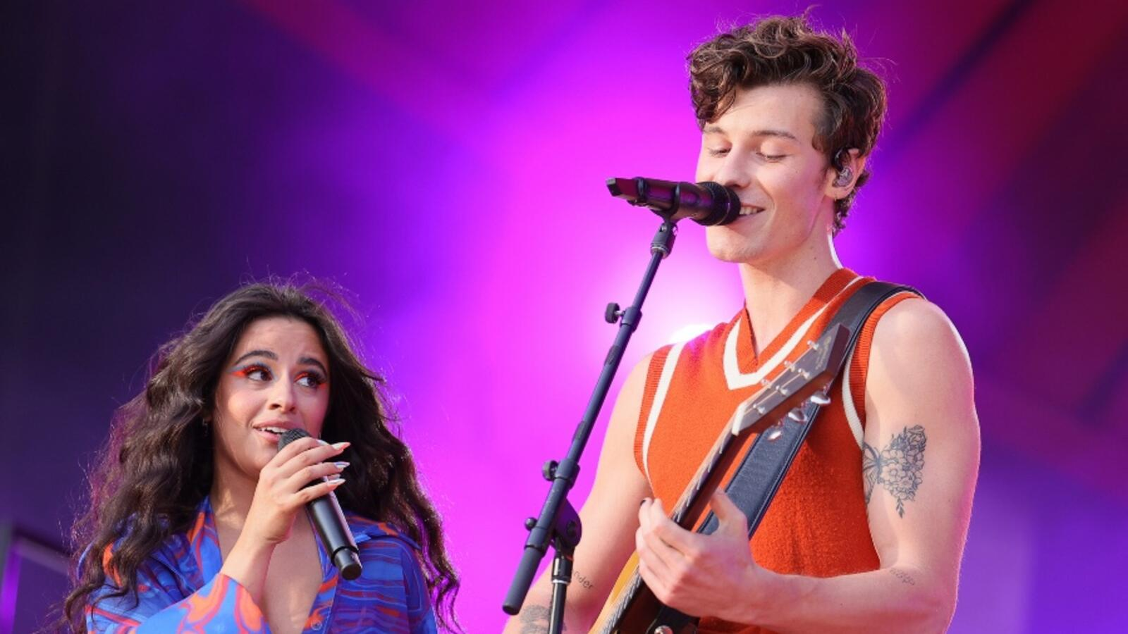 Shawn Mendes And Camila Cabello Perform Duet & Kiss At Global Citizen Live