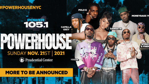 The House is BACK! Nov 21st @ Prudential Center Check Out the Official Lineup