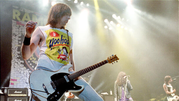 Johnny Ramone's Favorite Guitar Sells For Nearly $1 Million At Auction