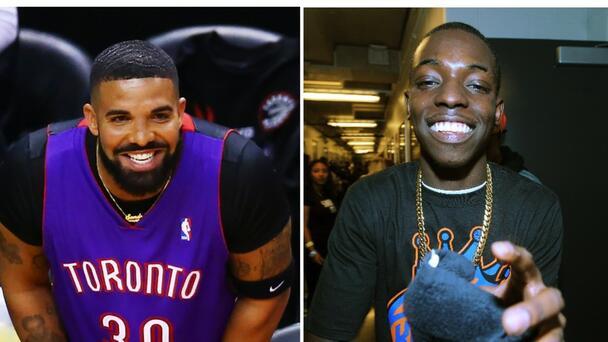 Drake Taps Bobby Shmurda To Model For OVO's NBA Collaboration