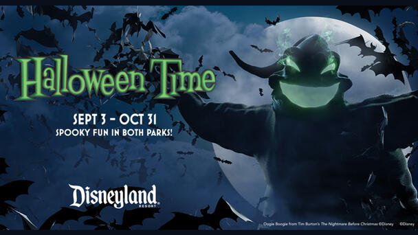 JAM'N Wants To Send You To Halloween Time at the Disneyland® Resort!