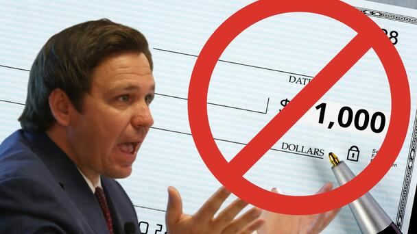 Florida Teachers Say They Can't Cash Their $1,000 Bonus Checks From State