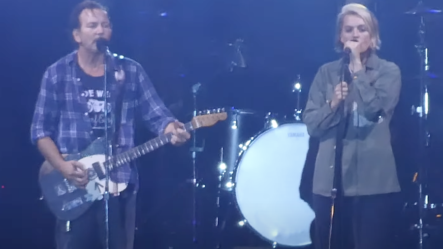 Watch Brandi Carlile Join Pearl Jam Onstage To Sing 'Better Man'