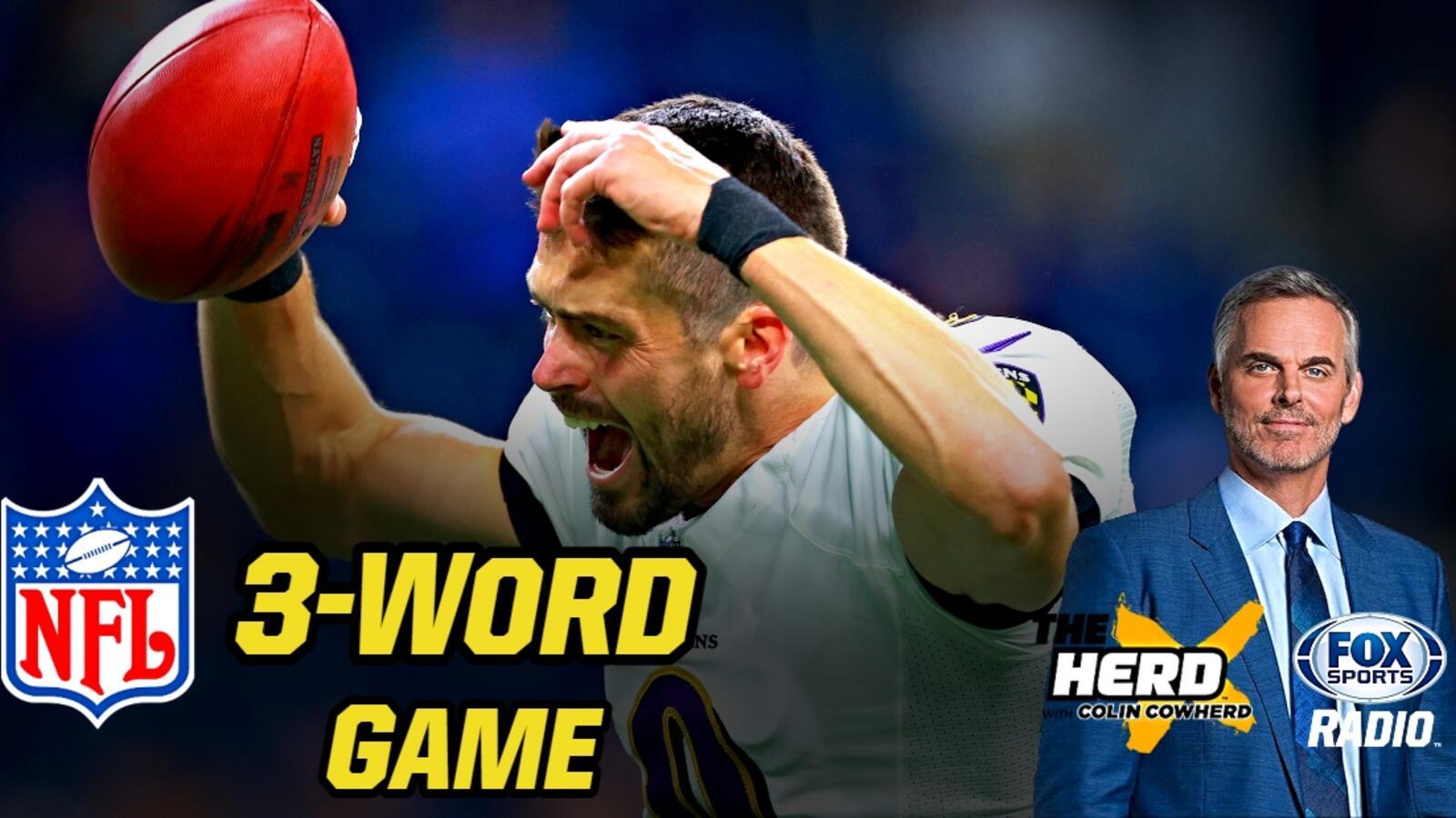 Colin Cowherd Breaks Down Every NFL Week 3 Game in Just Three Words