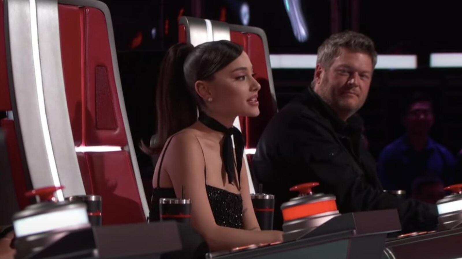 Watch This 'Voice' Contestant Make Ariana Grande Cry: 'I Am Choked Up'