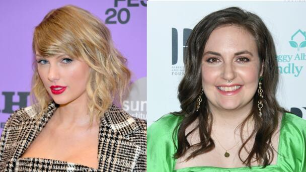 Taylor Swift Was Lena Dunham's Guest Of Honor At Her Secret Wedding