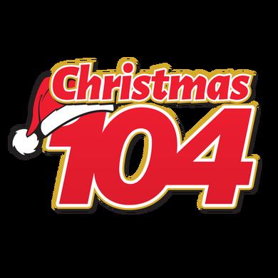 Christmas 104 logo